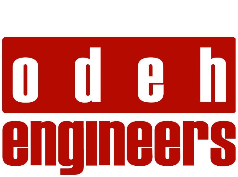 Odeh Engineers Logo with top margin