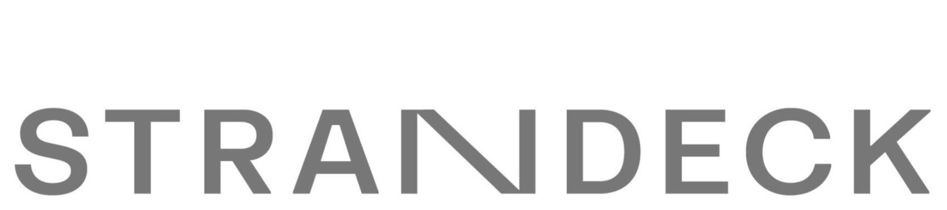 Strandeck Logo with top margin
